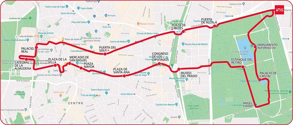 Tour en bicicleta + paella Madrid | Retiro Magic