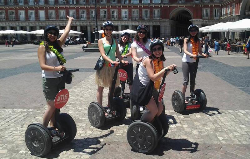 Segway Madrid Downtown tour | Retiro Magic