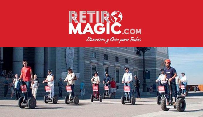 Team Building Madrid centro | Retiro Mágico