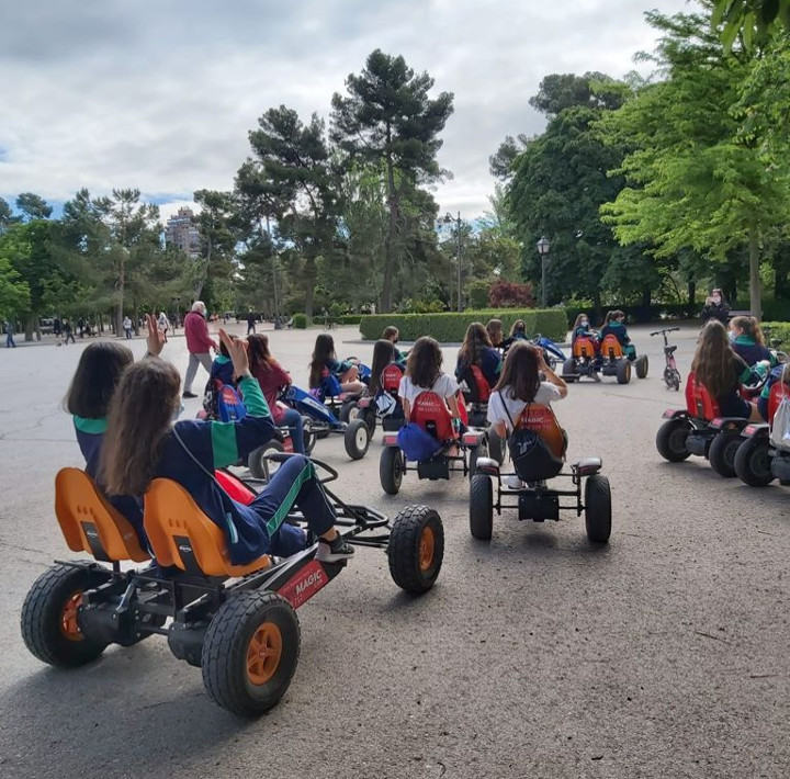Alquiler de karts a pedales Madrid | Retiro Magic