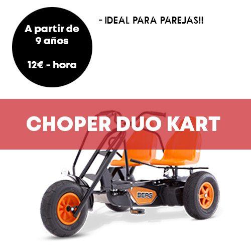 Choper Duo Kart Madrid | Retiro Magic