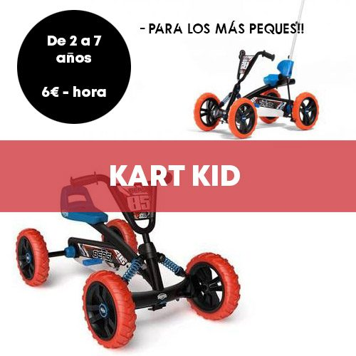 Alquiler Kart Kid Madrid | Retiro Magic