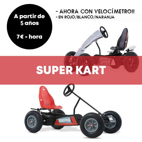 Alquiler Super Kart Madrid | Retiro Magic
